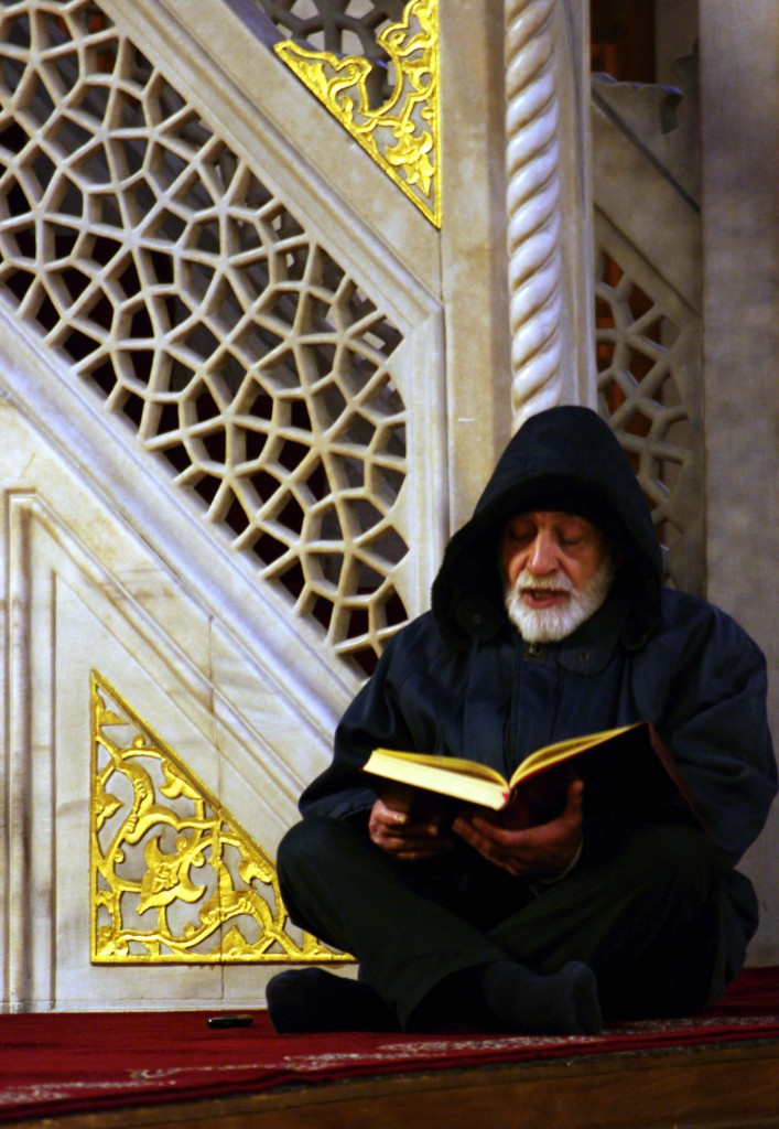0 Reading the Holy Qur'an