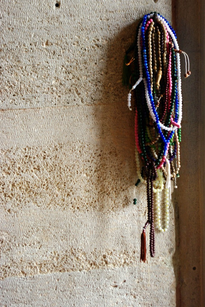 2 Beads on the Mosque Wall