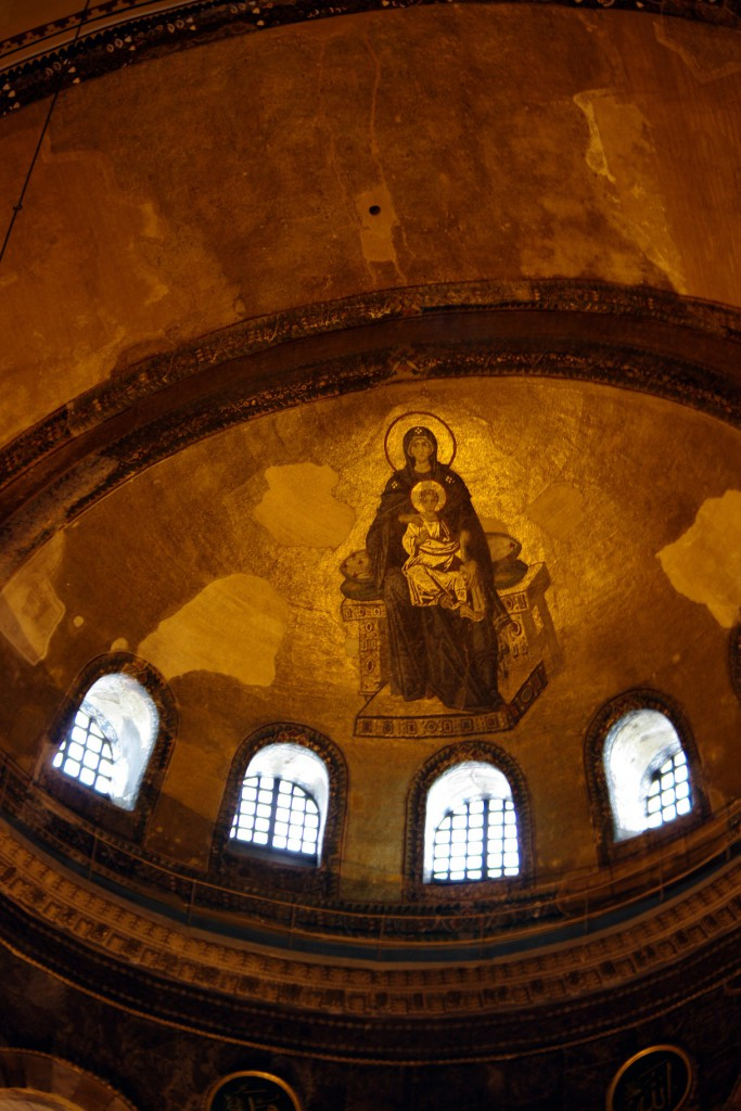 Aya Sofya - Virgin & Child