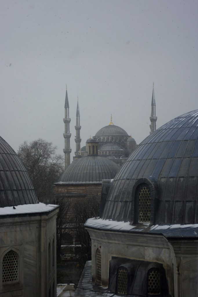Winter Skyline - Sultanahmet